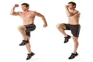 high-knee-skip